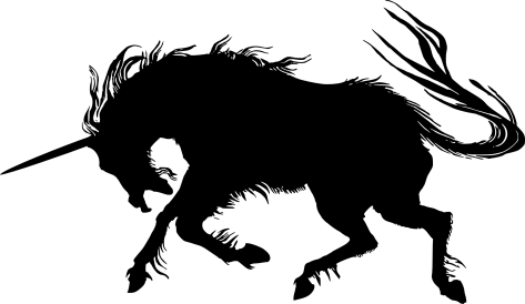 unicorn-head-silhouette-free-clipart-images